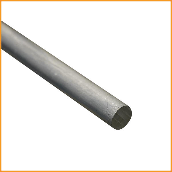 fer rond aluminium